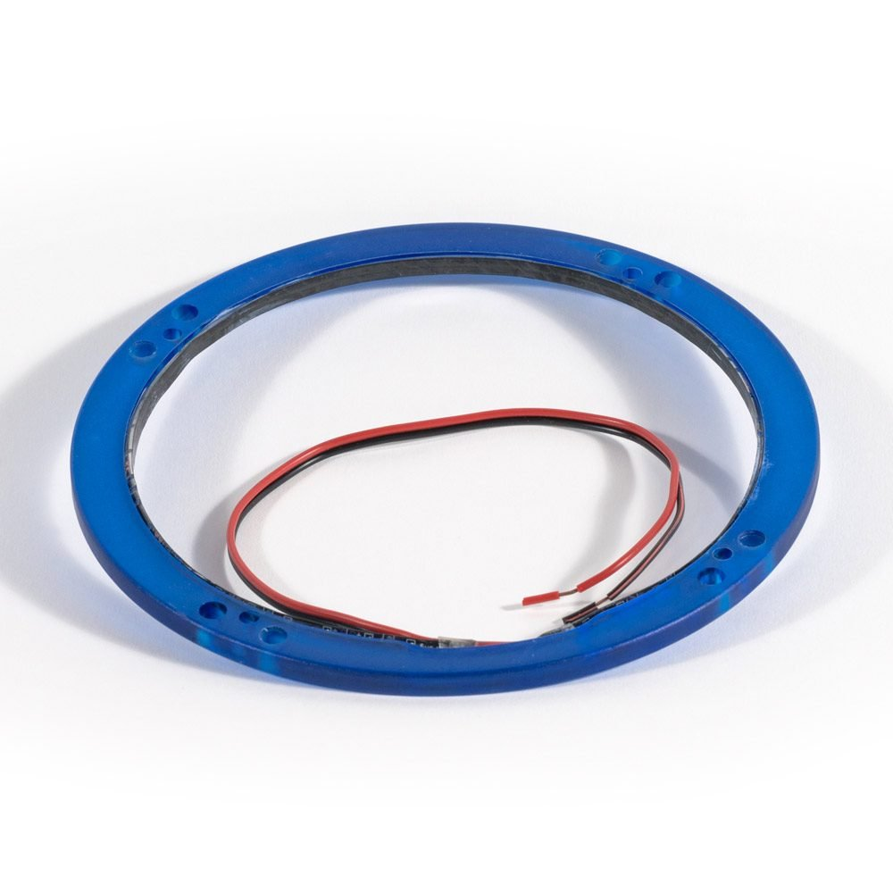 Roswell Marine Audio 6.5 Inch LED Night RIng Blue
