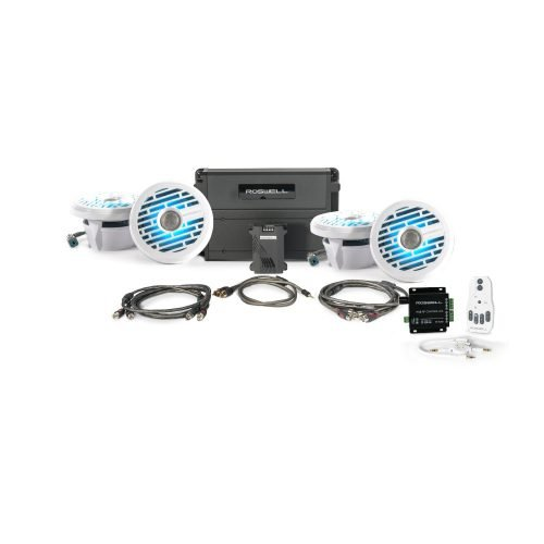 Roswell Marine Audio R1 In-Boat Package
