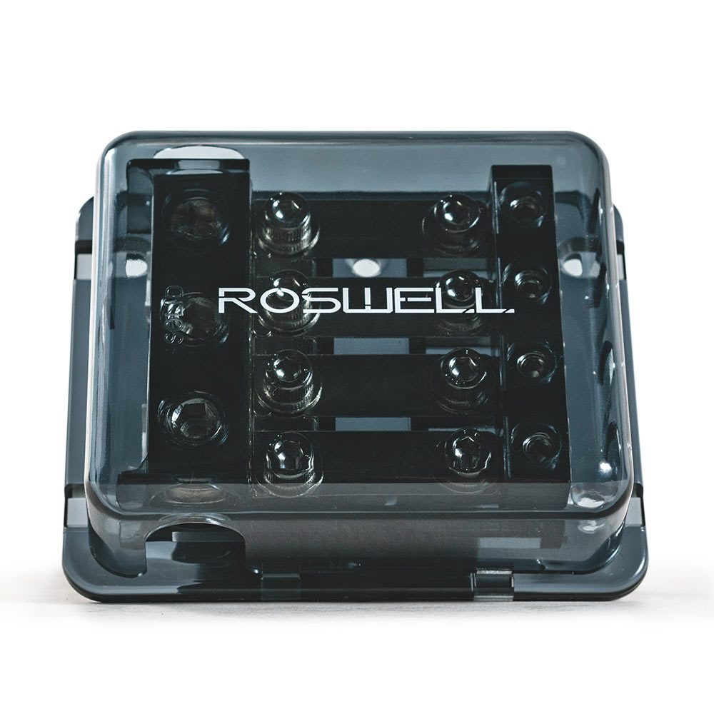 Roswell Marine Audio distribution block 1 in 4 out ground