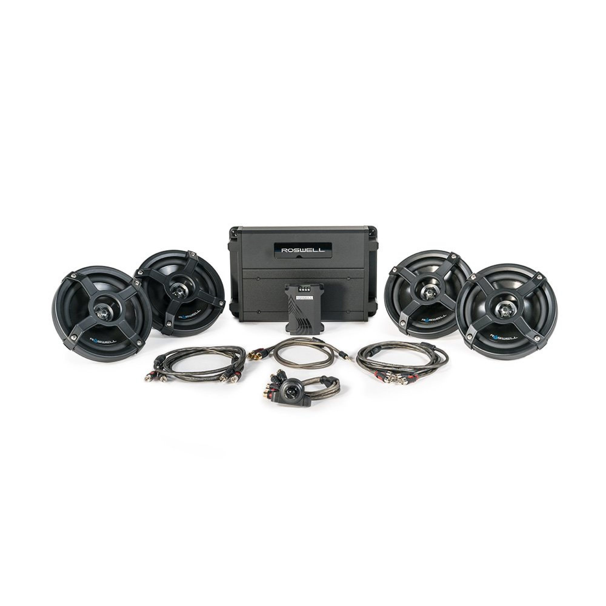 Roswell Marine Audio 6510 In-Boat Package
