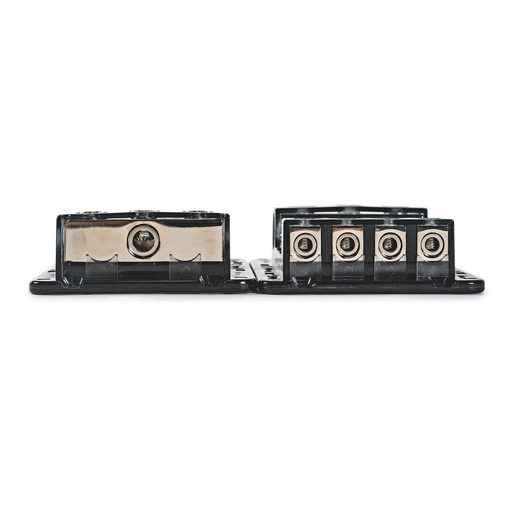 Roswell Marine Audio distribution block 1 in 4 out ground fused