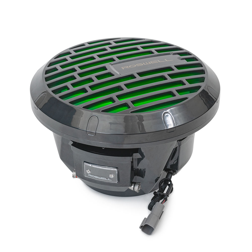 Roswell Marine 10 Inch Marine Subwoofer - Anthracite